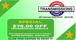 lowndes county transmission coupon